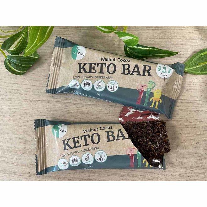 Keto Bar - Walnut Cocoa - 40g - BIO