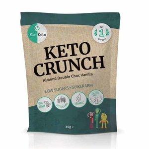 Go-Keto Crunch - Almond Double Choc Vanilla - 40g - BIO