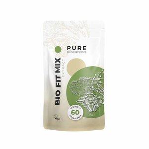 Pure Mushrooms Fit Mix - Paddenstoelen Extract - 60 vegicaps - BIO