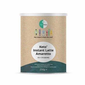 Go-Keto Instant Keto Latte - Amaretto - MCT 60/40 - 250g