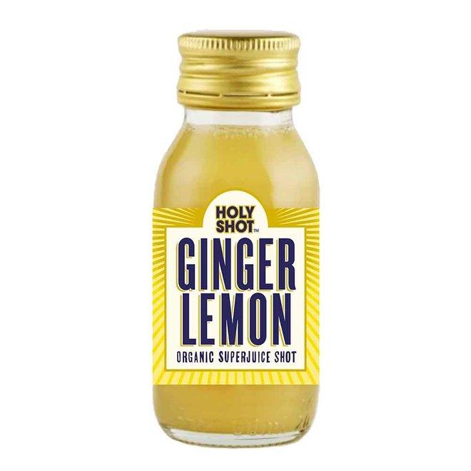 Ginger & Lemon Shot - 60ml - BIO