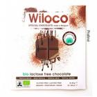 Lactosevrije Chocoladereep 'Melk' met Praline 90g - BIO