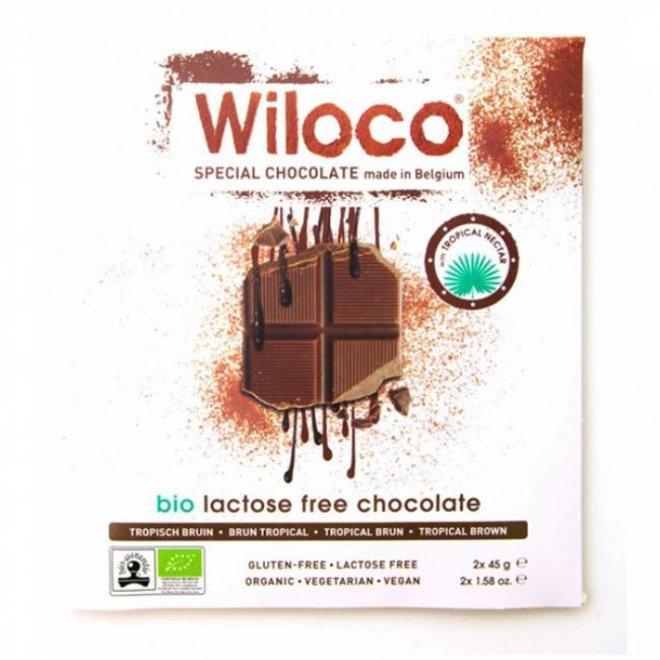 Lactosevrije Chocoladereep  'Melk' - 90g - BIO