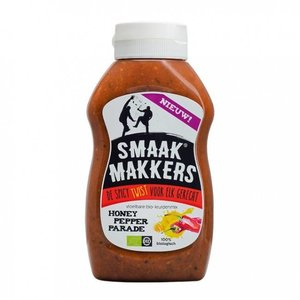 Smaakmakkers Honey Pepper Parade 260ml - BIO