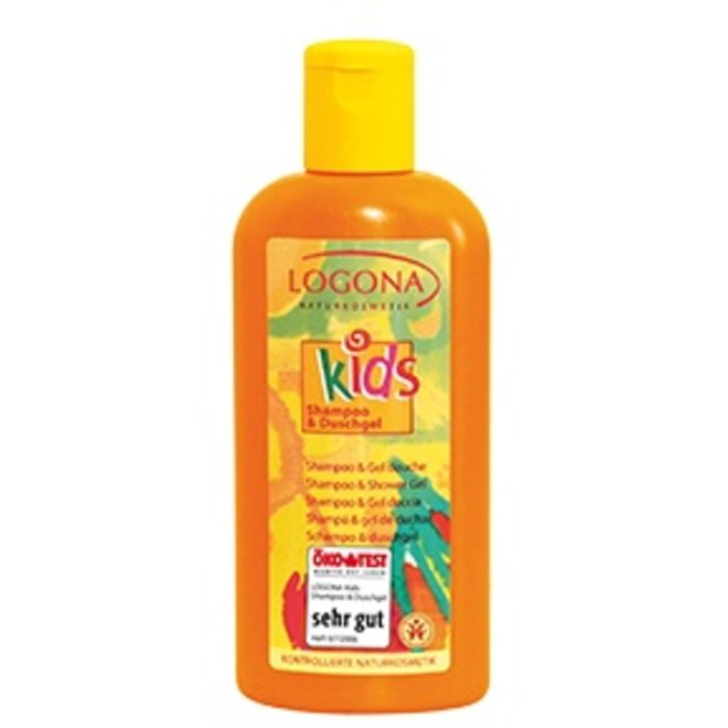 Kids 2 in 1 Shampoo en Douche 200ml