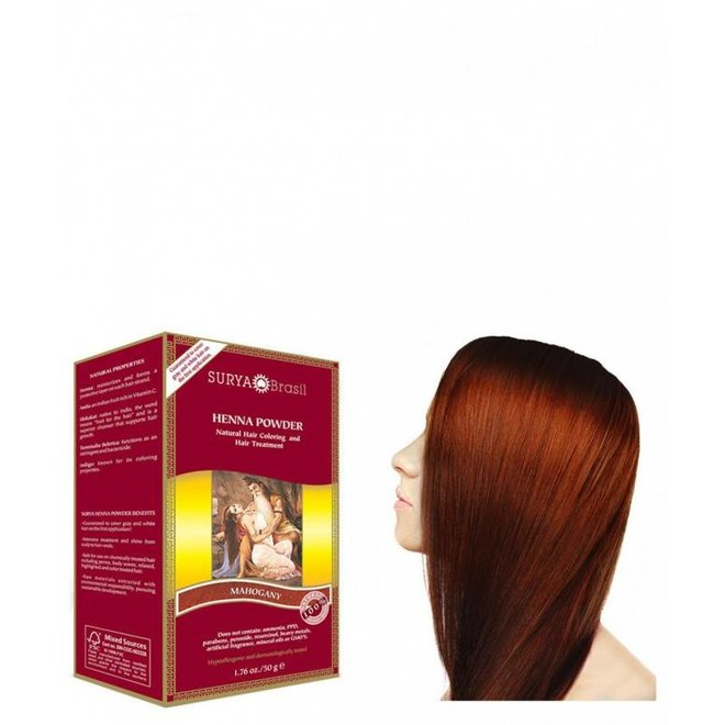 Haarkleuring Henna Powder - Mahogany