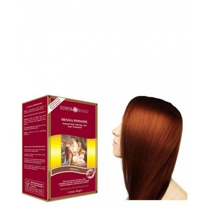 Surya Brasil Haarkleuring Henna Powder - Brown