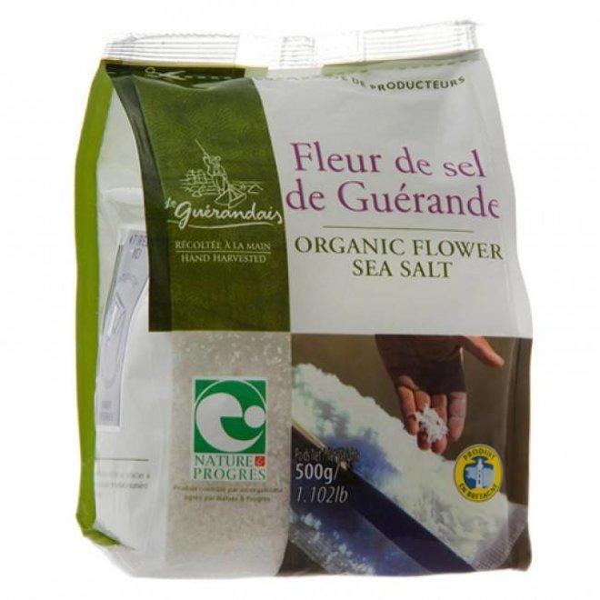 Fleur de Sel Culinair Keltisch Zeezout Fijn - 500g