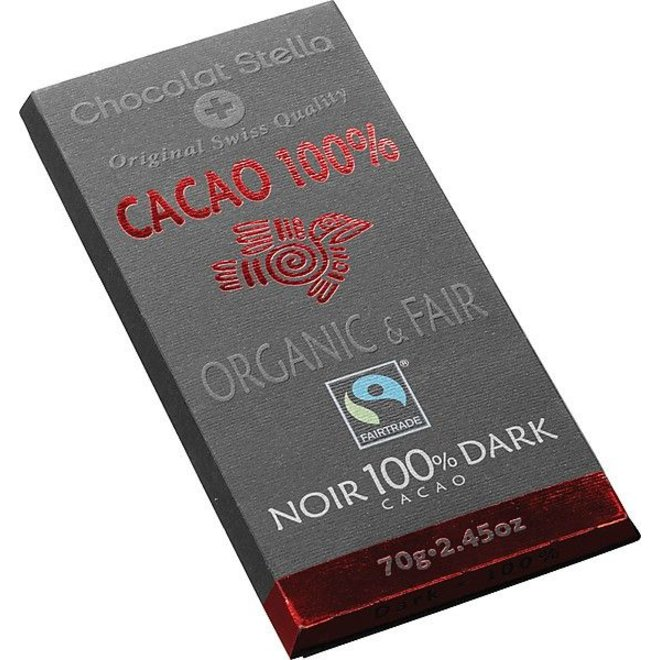 Chocolade Dark 100% 70g - BIO
