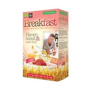 Joannusmolen Breakfast Ontbijt Havermout - Rood Fruit 300g - BIO