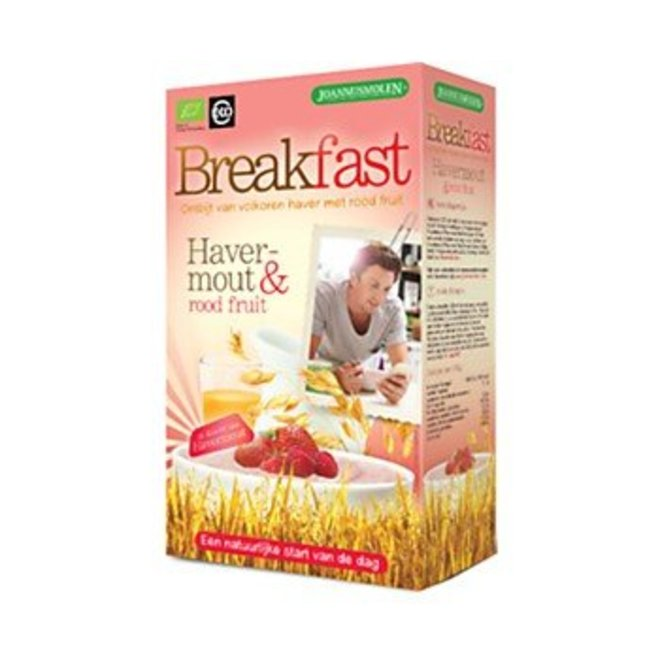 Breakfast Ontbijt Havermout - Rood Fruit - 300g - BIO
