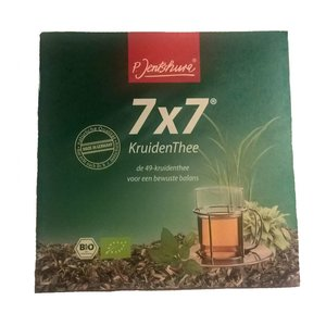 P. Jentschura 7x7 Kruidenthee (monsterzakje - 1zakje) - BIO