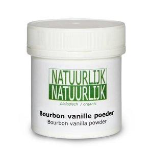 NatuurlijkNatuurlijk Bourbon Vanillepoeder - 50g-BIO