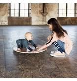 Wobbel360 blank gelakt met persvilt Baby Muis