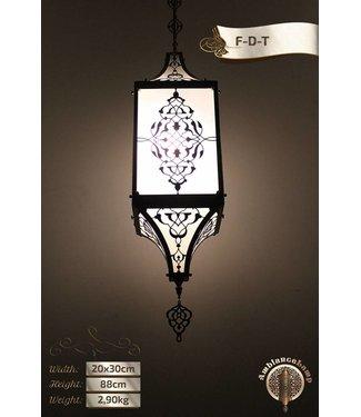 Hanglamp rechthoek rustiek