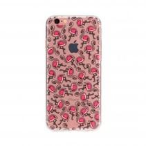 FLAVR TPU Case Flamingos voor Apple iPhone 7/8