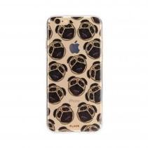 FLAVR TPU Case Pugs voor Apple iPhone 7/8