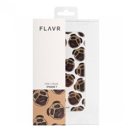 FLAVR FLAVR TPU Case Pugs voor Apple iPhone 7/8