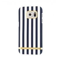 Richmond & Finch Satin Stripes Case Nautical voor Samsung Galaxy S7 Edge