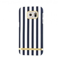 Richmond & Finch Satin Stripes Case Nautical voor Samsung Galaxy S7 Edge