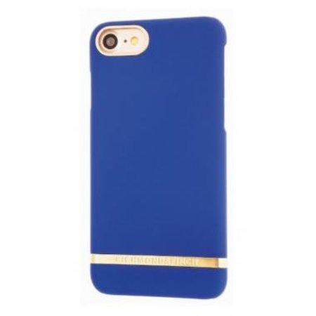 Richmond & Finch Richmond & Finch Classic Satin Case Blauw voor Apple iPhone 7/8
