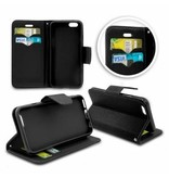 Mobiware Wallet Book Case Zwart voor Samsung Galaxy S8