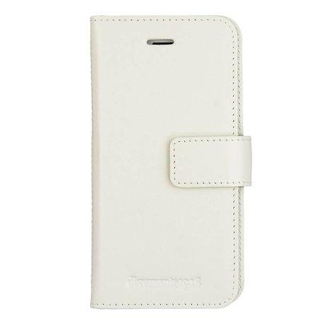 DBramante1928 DBramante1928 Leather Wallet Folio Case Copenhagen 2 Antique White voor iPhone 8/7/6S/6