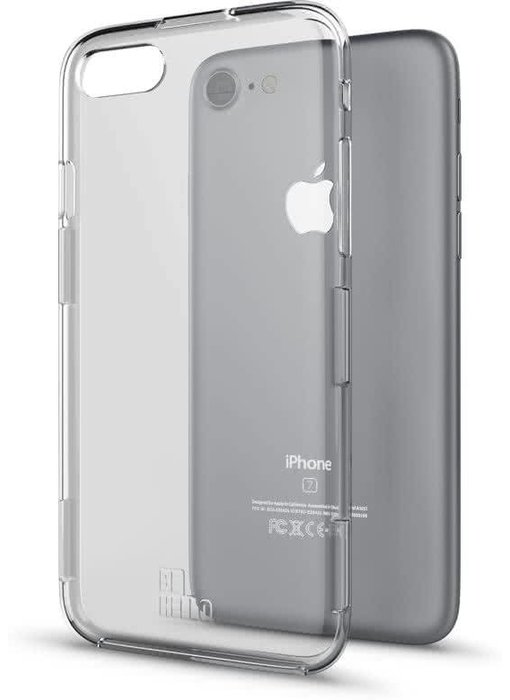 BeHello Rugged Case Transparant voor Apple iPhone 6(S)/7/8