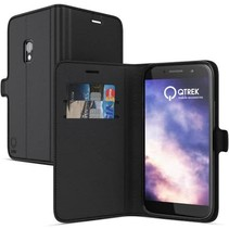 Qtrek Wallet Case Zwart voor Samsung Galaxy S8 Plus