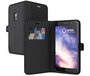 Qtrek Wallet Case Zwart voor Samsung Galaxy S8 Plus