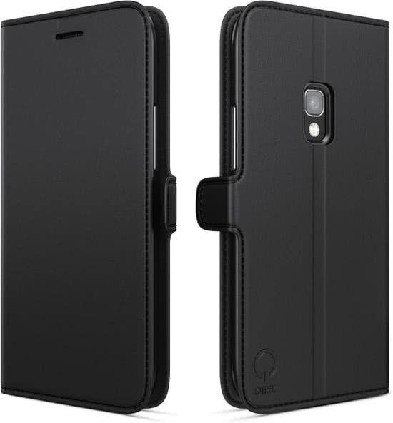Qtrek Qtrek Wallet Case Zwart voor Samsung Galaxy S8 Plus