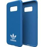 Adidas Adidas Slim Moulded Case Blauw voor Samsung Galaxy S8