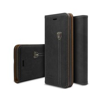 iHosen Leather Book Case Zwart voor de iPhone X / Xs