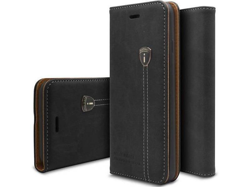 iHosen iHosen Leather Book Case Zwart voor de iPhone X / Xs