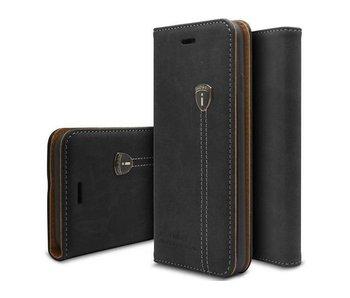 iHosen Leather Book Case Zwart voor de iPhone 7/8 Plus