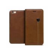 iHosen Leather Book Case Bruin  voor de iPhone 7/8 Plus