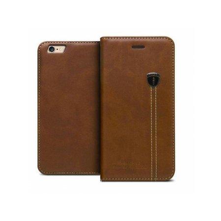 iHosen iHosen Leather Book Case Bruin  voor de iPhone 7/8 Plus