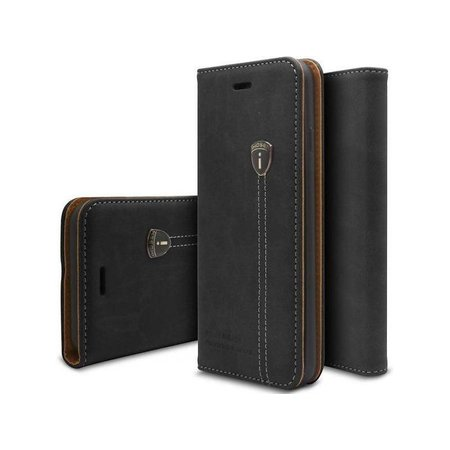 iHosen iHosen Leather Book Case Zwart voor de iPhone 7/8