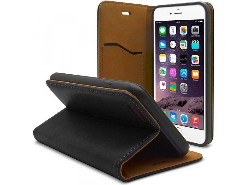 iHosen iHosen Leather Book Case Zwart voor de iPhone 7/8