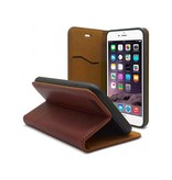 iHosen iHosen Leather Book Case Bordeaux Rood voor de iPhone 7/8