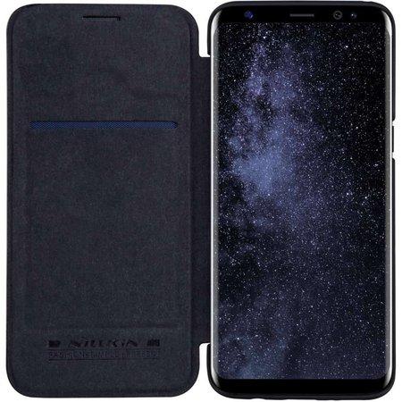 Nillkin Nillkin Qin Leather Case Samsung Galaxy S8 Plus (Black)