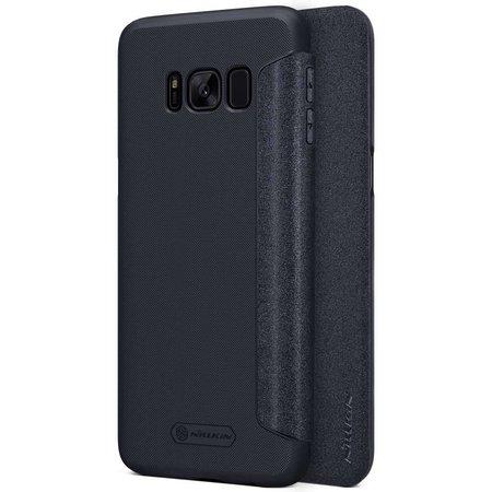 Nillkin Nillkin Sparkle Leather Case Samsung Galaxy S8 Plus (Black)