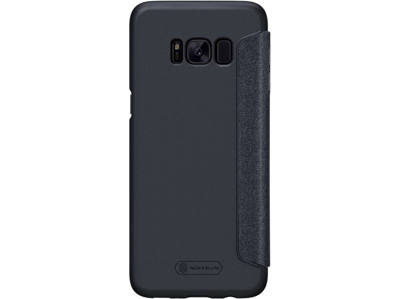 Nillkin Nillkin Sparkle Leather Case Samsung Galaxy S8 Plus (Black)