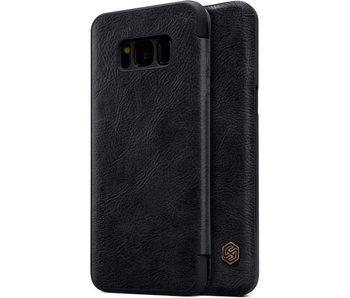Nillkin Qin Leather Case Samsung Galaxy S8 (Black)