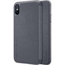 Nillkin Sparkle Leather Case Apple iPhone X / Xs (Black)