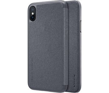 Nillkin Sparkle Leather Case Apple iPhone X (Black)