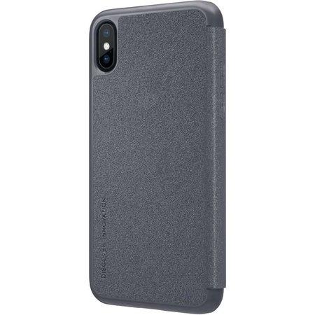 Nillkin Nillkin Sparkle Leather Case Apple iPhone X / Xs (Black)