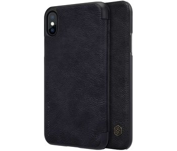 Nillkin Qin Leather Case Apple iPhone X (Black)