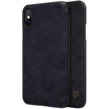 Nillkin Nillkin Qin Leather Case Apple iPhone X (Black)