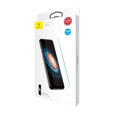 Baseus  Baseus Tempered Glass Apple iPhone X (0.2mm)